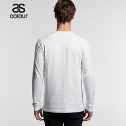 As Colour 5041 Henley Long Sleeve Tee
