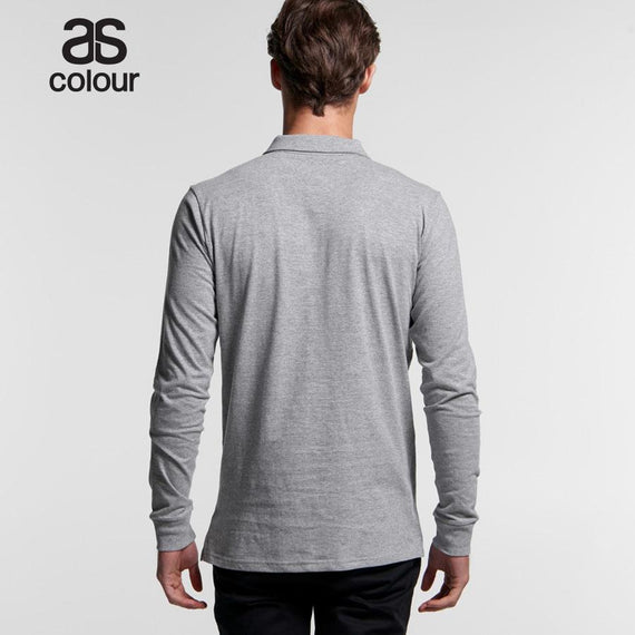 As Colour 5404 Chad Long Sleeve Polo Shirt