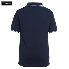 JB's Wear 2KCP Kids Contrast Polo