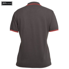 JB's Wear 2LCP Ladies Contrast Polo