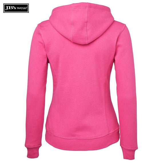 JB's Wear 3HJ1 Ladies Full Zip Fleece Hoodie