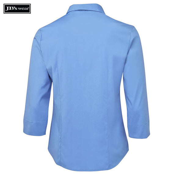JB's Wear 4PLU3 Ladies Urban 3/4 Poplin Shirt