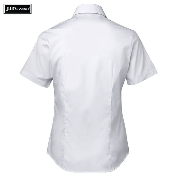 JB's Wear 4PLUS Ladies Urban S/S Poplin Shirt