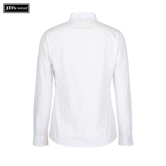 JB's Wear 4PS1L Ladies Classic L/S Poplin Shirt