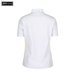 JB's Wear 4PS1S Ladies Classic S/S Poplin Shirt