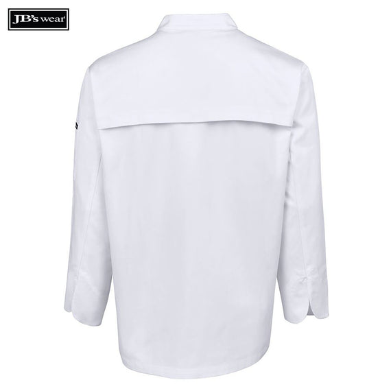 JB's Wear 5CVL Vented Chef's L/S Jacket