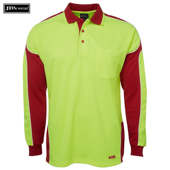 Image of JB's Wear Hi-Vis Polos, Style Code - 6AP4L. Contact Natural Art for Screen Printing on this Product