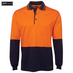 Image of JB's Wear Hi-Vis Polos, Style Code - 6CPHL. Contact Natural Art for Screen Printing on this Product