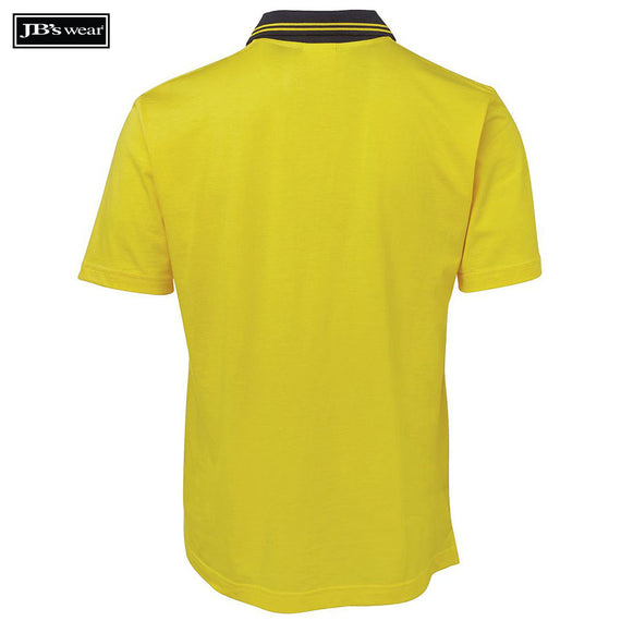 JB's Wear 6CPHV Hi Vis S/S Cotton Polo
