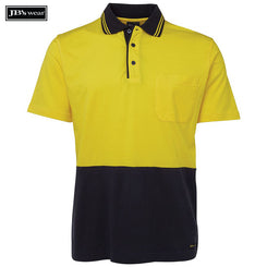 Image of JB's Wear Hi-Vis Polos, Style Code - 6CPHV. Contact Natural Art for Screen Printing on this Product