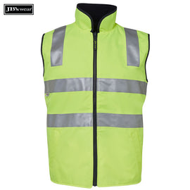 Image of JB's Wear Hi-Vis Vests, Style Code - 6D4RV. Contact Natural Art for Screen Printing on this Product