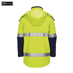 JB's Wear 6DIJ Hi Vis (D+N) Soft Shell Industry Jacket