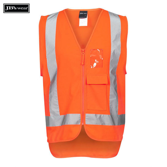 Image of JB's Wear Hi-Vis Vests, Style Code - 6DNDT. Contact Natural Art for Screen Printing on this Product