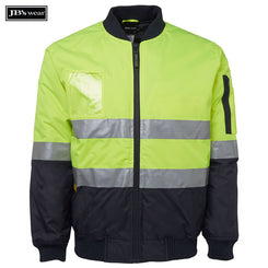 Image of JB's Wear Hi-Vis-Jackets, Style Code - 6DNFJ. Contact Natural Art for Screen Printing on this Product