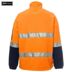 JB's Wear 6DNPF Hi Vis (D+N) 1/2 Zip Polar Fleece