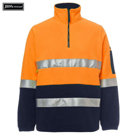 Image of JB's Wear Hi-Vis-Fleece, Style Code - 6DNPF. Contact Natural Art for Screen Printing on this Product
