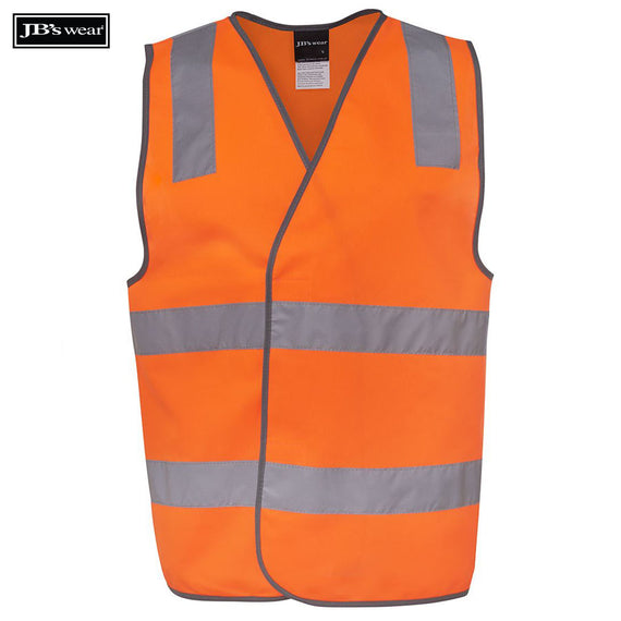 Image of JB's Wear Hi-Vis Vests, Style Code - 6DNSV. Contact Natural Art for Screen Printing on this Product