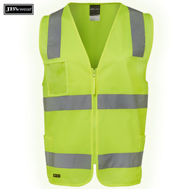 Image of JB's Wear Hi-Vis Vests, Style Code - 6DNSZ. Contact Natural Art for Screen Printing on this Product