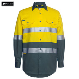 Image of JB's Wear Hi-Vis Shirts, Style Code - 6DNWL. Contact Natural Art for Screen Printing on this Product