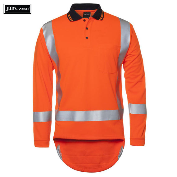 Image of JB's Wear Hi-Vis Polos, Style Code - 6DTLP. Contact Natural Art for Screen Printing on this Product
