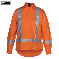 Image of JB's Wear Hi-Vis Shirts, Style Code - 6DTLS. Contact Natural Art for Screen Printing on this Product