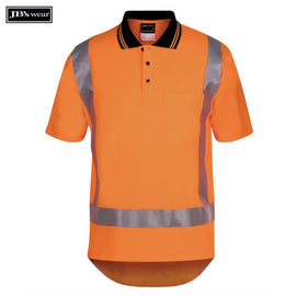 Image of JB's Wear Hi-Vis Polos, Style Code - 6DTSP. Contact Natural Art for Screen Printing on this Product