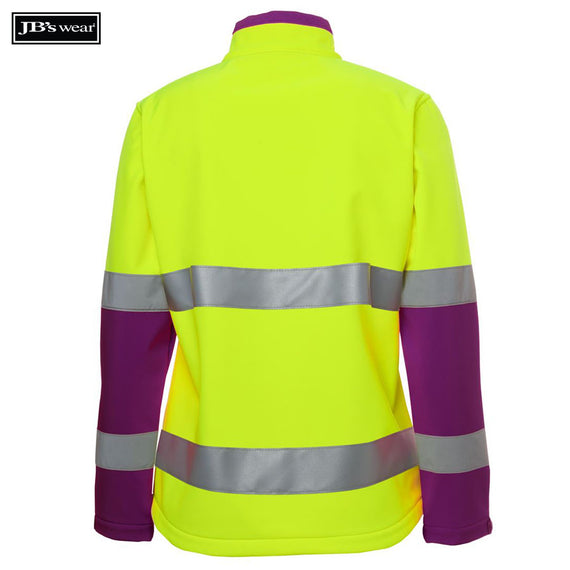 JB's Wear 6DWJ1 Ladies Hi Vis D+N Water Resistant Soft