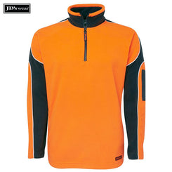 Image of JB's Wear Hi-Vis-Fleece, Style Code - 6H4AP. Contact Natural Art for Screen Printing on this Product