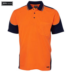 Image of JB's Wear Hi-Vis Polos, Style Code - 6HCP4. Contact Natural Art for Screen Printing on this Product