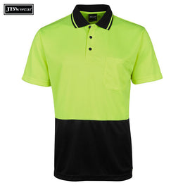 Image of JB's Wear Hi-Vis Polos, Style Code - 6HJNC. Contact Natural Art for Screen Printing on this Product
