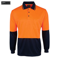 Image of JB's Wear Hi-Vis Polos, Style Code - 6HJNL. Contact Natural Art for Screen Printing on this Product
