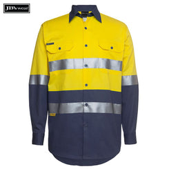Image of JB's Wear Hi-Vis Shirts, Style Code - 6HLS. Contact Natural Art for Screen Printing on this Product