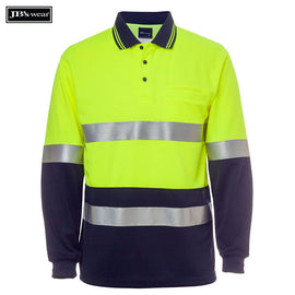 Image of JB's Wear Hi-Vis Polos, Style Code - 6HMCB. Contact Natural Art for Screen Printing on this Product