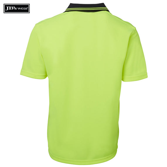 JB's Wear 6HNB Hi Vis S/S Non Button Polo
