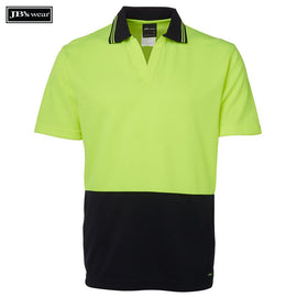 Image of JB's Wear Hi-Vis Polos, Style Code - 6HNB. Contact Natural Art for Screen Printing on this Product