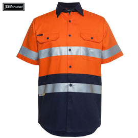 Image of JB's Wear Hi-Vis Shirts, Style Code - 6HSS. Contact Natural Art for Screen Printing on this Product