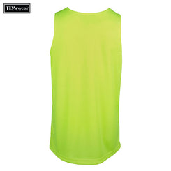 JB's Wear 6HTS Hi Vis Traditional Singlet