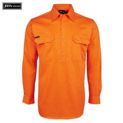 Image of JB's Wear Hi-Vis Shirts, Style Code - 6HVCF. Contact Natural Art for Screen Printing on this Product