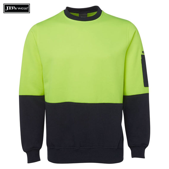 Image of JB's Wear Hi-Vis-Fleece, Style Code - 6HVCN. Contact Natural Art for Screen Printing on this Product