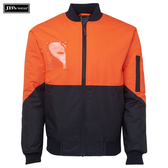 Image of JB's Wear Hi-Vis-Jackets, Style Code - 6HVFJ. Contact Natural Art for Screen Printing on this Product