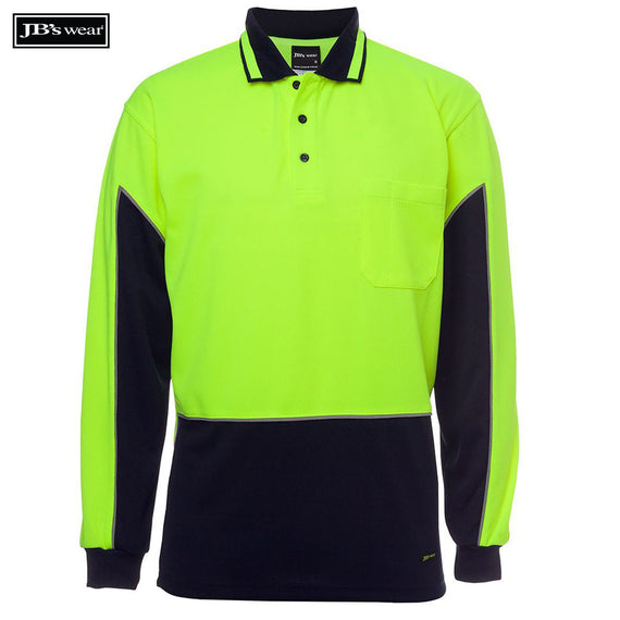 Image of JB's Wear Hi-Vis Polos, Style Code - 6HVGL. Contact Natural Art for Screen Printing on this Product