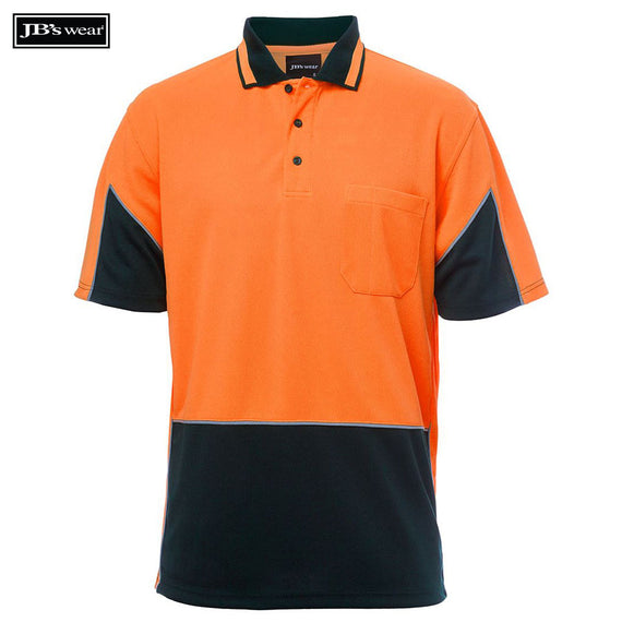 Image of JB's Wear Hi-Vis Polos, Style Code - 6HVGS. Contact Natural Art for Screen Printing on this Product