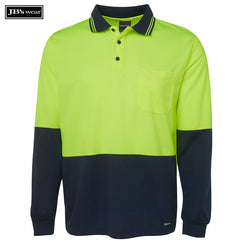 Image of JB's Wear Hi-Vis Polos, Style Code - 6HVPL. Contact Natural Art for Screen Printing on this Product