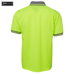 JB's Wear 6HVPS Hi Vis S/S Traditional Polo