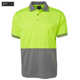 Image of JB's Wear Hi-Vis Polos, Style Code - 6HVPS. Contact Natural Art for Screen Printing on this Product
