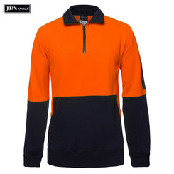 Image of JB's Wear Hi-Vis-Fleece, Style Code - 6HVPZ. Contact Natural Art for Screen Printing on this Product