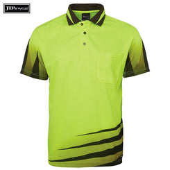 Image of JB's Wear Hi-Vis Polos, Style Code - 6HVRS. Contact Natural Art for Screen Printing on this Product