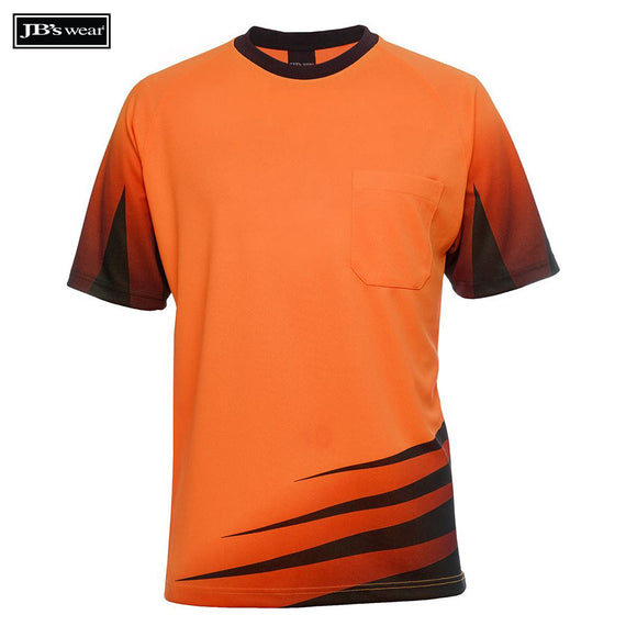 Image of JB's Wear Hi-Vis T-Shirts, Style Code - 6HVRT. Contact Natural Art for Screen Printing on this Product