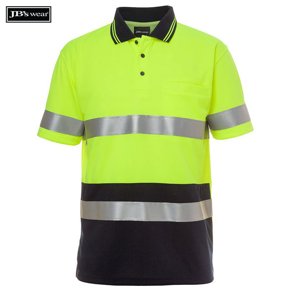 Image of JB's Wear Hi-Vis Polos, Style Code - 6HVST. Contact Natural Art for Screen Printing on this Product