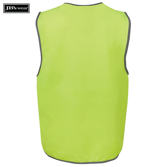 JB's Wear 6HVSV Hi Vis Safety Vest